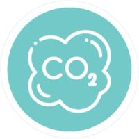 CO2 sign