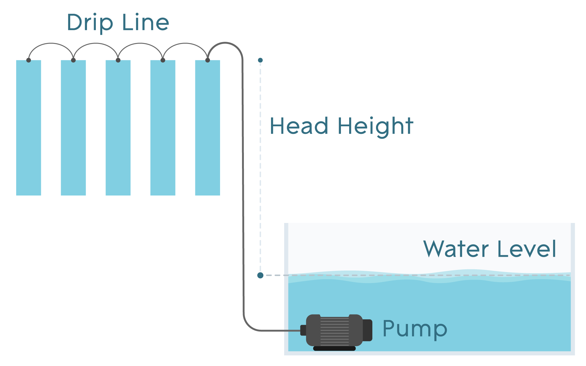 Hydroponic Pumps Diagram