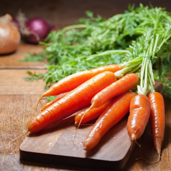 Grow hydroponic carrots