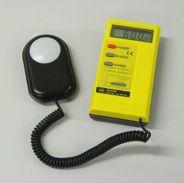 example of a lux meter