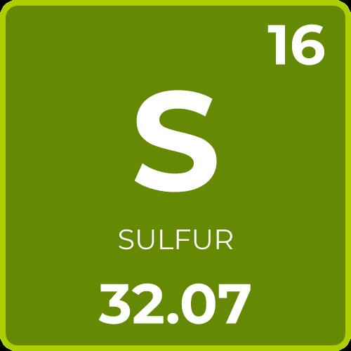 Sulfur for Plants
